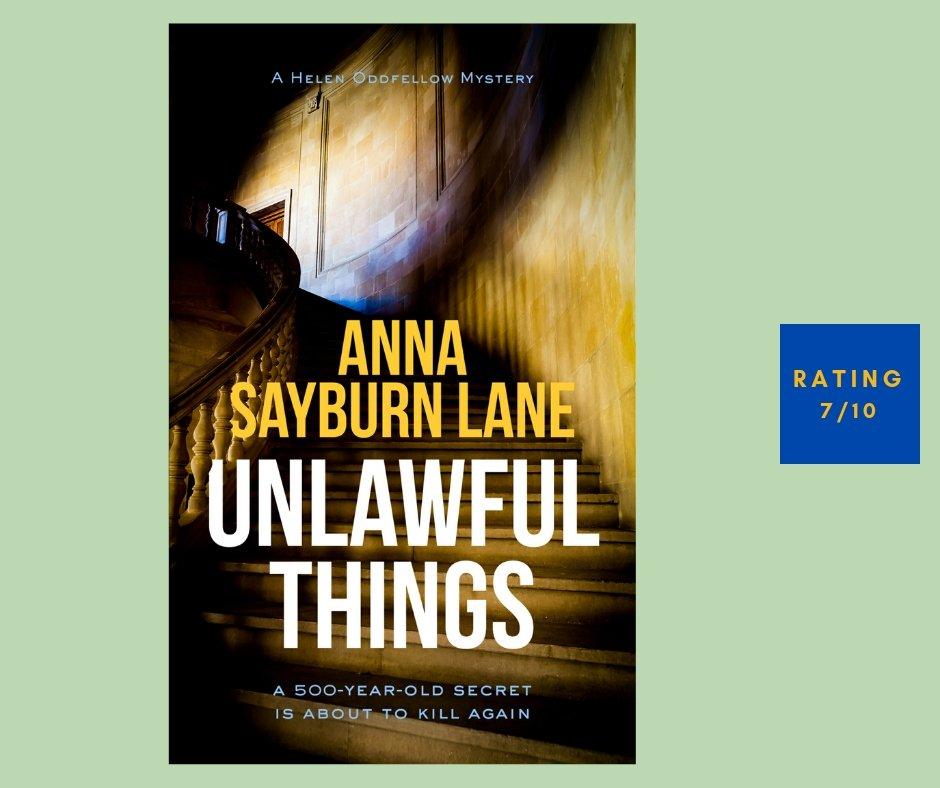 Anna Sayburn Lane Unlawful Things review